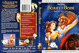 Walt Disney DVD Covers Beauty and the Beast Platinum Edition walt