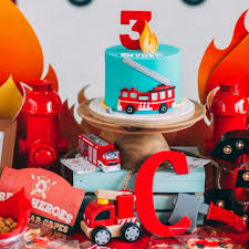 Firefighter-Themed Birthday Party | POPSUGAR Family Fire Truck Birthday Party With Free Printables How To Nest For Less Firefighter Ideas Photo 2 Of 27 Ethans Fireman Fourth Play And Learn Every Day Free Printable Invitations Invitation Katies Blog Throw A Themed On A Smokin Hot Maison De Pax Jacks 3rd Cheeky Diy Amy Tangerine Emma Rameys Firetruck Lamberts Lately Kids Something Wonderful Happened Decorations The Journey Parenthood Spaceships Laser Beams