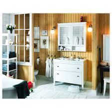 hemnes spiegelschrank 2 türen weiß 103x16x98 cm