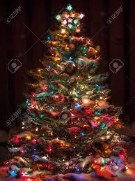 design multi color tree multicolor lights