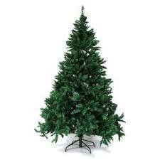 Kinbor 7 Premium Hinged Artificial Christmas Pine Tree With Solid Metal Base 1800 Tips Full