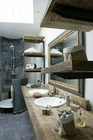möbel massiv rustikal badezimmer badezimmer rustikal stil