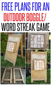 DIY Outdoor Boggle / Word Streak Game   Outdoor Games, Building ... Yard Games Entertaing For Friends And Barbecue Diy Balance Beam Parks The Park Outdoor Play Equipment Boggle Word Streak Game Games Building 248 Best Primary Images On Pinterest Kids Crafts School 113 Acvities Children Dch Freehold Nissan 5 Unique You Can Play In Your Backyard Outdoor To In Your Backyard Next Weekend Best Projects For Space Water 19 Have To This Summer Backyards Outside Five Fun Kiddie Pool Bare