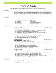 Free Sample Resume Housekeeping Supervisor For Hotel Job And Eping Beautiful Assistant Executive Ep