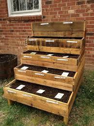 DIY Pallet Garden Box Project
