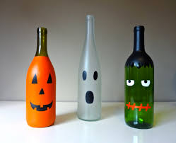 Decorative Wine Bottles Ideas by Diy Wine Bottle Mummy 3 More Halloween Wine Bottle Crafts Rent