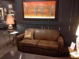 canap rustique canap rustique stunning canape cuir et bois un canapac greige gris