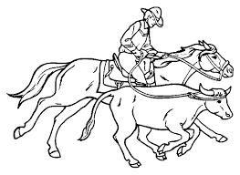 Cowboy Coloring Pages Photos