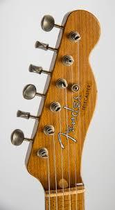 Fender Custom Shop 52 Relic Telecaster Daphne Blue Roasted Neck