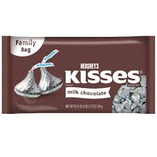 Pumpkin Spice Hershey Kisses Walmart by Buy Hershey U0027s Kisses Milk Chocolate Family Bag Cvs
