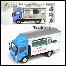 100 Npr Truck TINY HONG KONG CITY 101 Isuzu NPR Aquatic Products NEW DIECAST