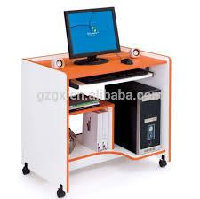 bureau pour ordinateur fixe petit bois table ordinateur de bureau pour étude buy product on