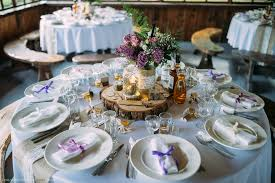 100ft Rustic Wedding Tablecloth Jute And Lace Table Runner Middle
