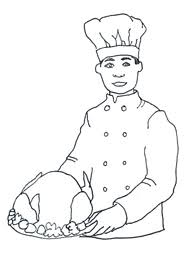 Professional Chef Clip Art