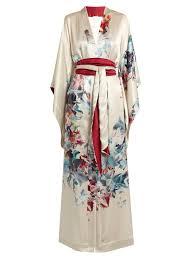 robe de chambre soie carine gilson robe de chambre en satin soie femme