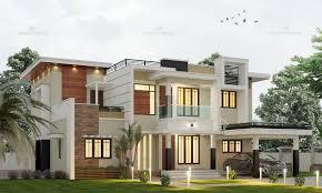 100 Contemporary Architecture House Style Palakkad Kerala