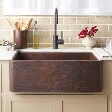 33x22 Copper Kitchen Sink by Luxury Copper Kitchen Farmhouse Sinks Native Trails