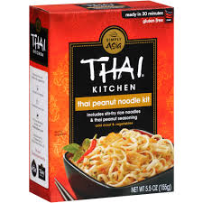 Thai Kitchen Gluten Free Thai Peanut Stir Fry Noodles 5 5 oz