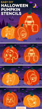 Easy Frankenstein Pumpkin Carving by Halloween Pumpkin Stencils Printable Pumpkin Stencils Pumpkin