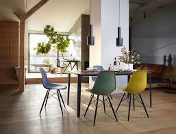 eames plastic side chair dsw stuhl vitra esche honigfarben weiss