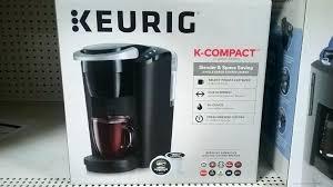 Mr Coffee Keurig Walmart Maker K Compact Single Serve Coupon Mom Makers