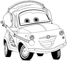 Cars The Movie Coloring Pages