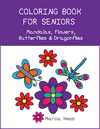 Coloring Books Seniors Cool For