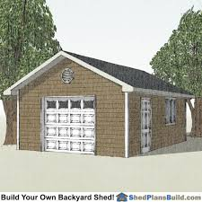 16x20 Gambrel Shed Plans by 16x24 Shed Plans Download Construction Blueprints Today