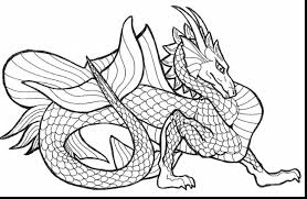 Brilliant Printable Dragon Coloring Pages With Dragons And Online