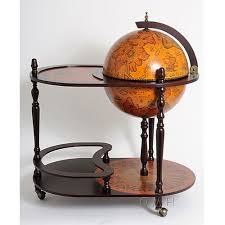 globe drink trolley liquor cabinet at brookstone buy now