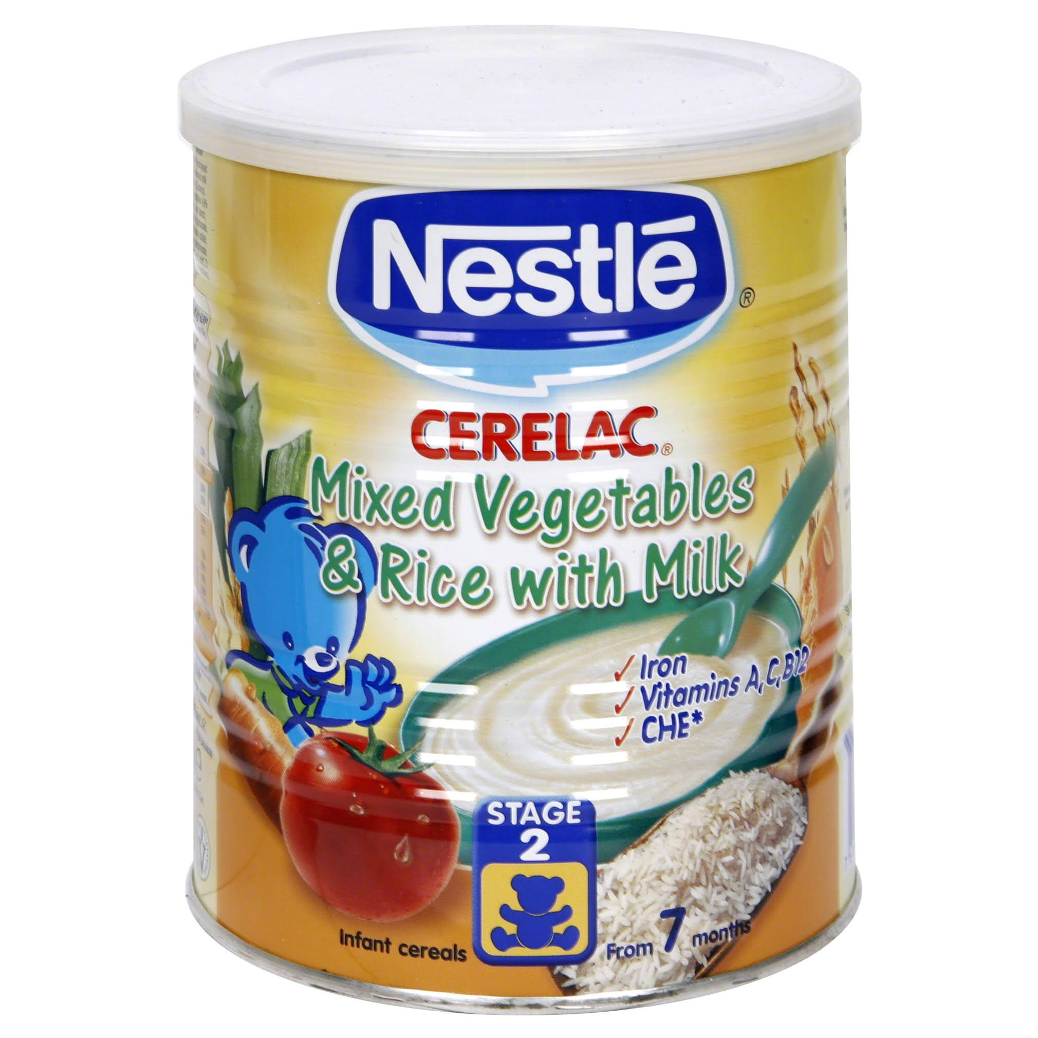 Cerelac Mixed Vegetables and Rice with Milk - 6 Months, 400g