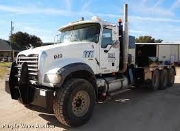 100 Truck Auctions In Texas 2009 Mack GU713 Granite Winch Truck Item DC5928 Thursday