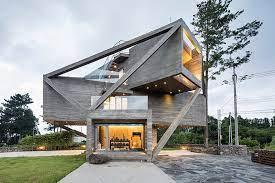 104 South Korean Architecture Moon Hoon Completes Simple House On Korea S Jeju Island