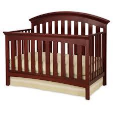 Storkcraft Bunk Bed by Delta Children Peyton 4 In 1 Convertible Crib Cabernet