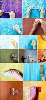 Easy Faux Painting Techniques Walls These Wall Will Rock Your Boat You Wont Believe