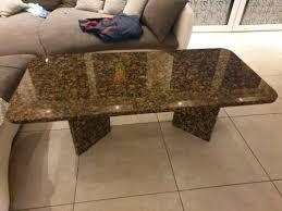 granit wohnzimmer tisch 250 abgerundet 70 breit 140 lang