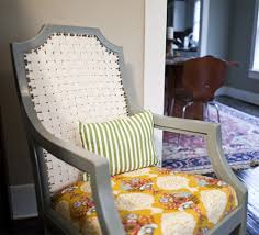 Recaning A Chair Back by Broken Cane Back Chair Makeover With Cotton Webbing Paint And