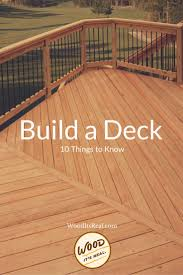 Runnen Floor Decking Outdoor Brown Stained 10 things to do when building a diy deck read our tips to save