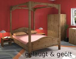 massivholz himmelbett jütte 180x220 dahlhaus kiefer gelaugt inkl bettkasten shop für massivholzmoebel hochbetten spielbetten und