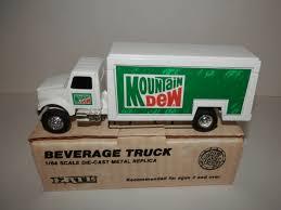 100 Beverage Truck Ertl 1 64 Mountain Dew 2080 EBay