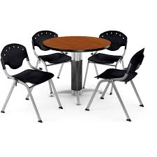100 Cherry Table And 4 Chairs Shop OFM 36inch Round Laminate With Free