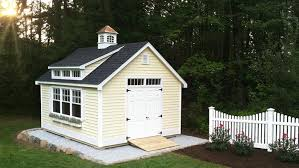 Reeds Ferry Sheds Massachusetts by Sun Yellow Vinyl Siding Color Reeds Ferry 12x16 Victorian