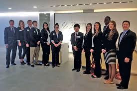 Students visit Marriott International headquarters meet with CFO