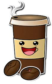 Cute Cartoon Coffee Cup Drawing