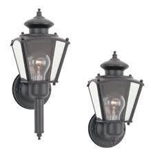 sea gull lighting classic 3 light outdoor wall lantern ebay