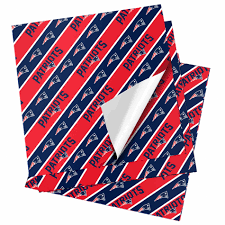 New England Patriots Pumpkin Stencil Free by Nfl Folded Gift Wrapping Paper New England Patriots