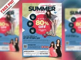 Fashion Sale Flyer Template PSD