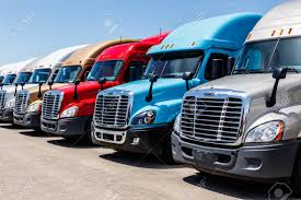 100 Trailer Trucks For Sale Indianapolis Circa June 2018 Colorful Freightliner Semi Tractor