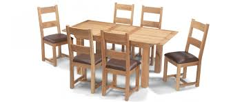 100 6 Oak Dining Table With Chairs Room Chair White And