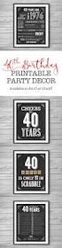 40th Birthday Decorations Canada by Best 25 Diy 40th Birthday Decorations Ideas On Pinterest Diy
